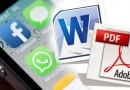 WhatsApp: como enviar documentos em PDF