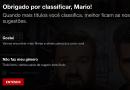 Netflix mudará sistema de avaliação de séries e filmes